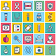 Healthcare Illustration Icon Set