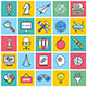 Creativity Icon Illustrations Collection