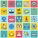 Maritime Illustration Icon Set