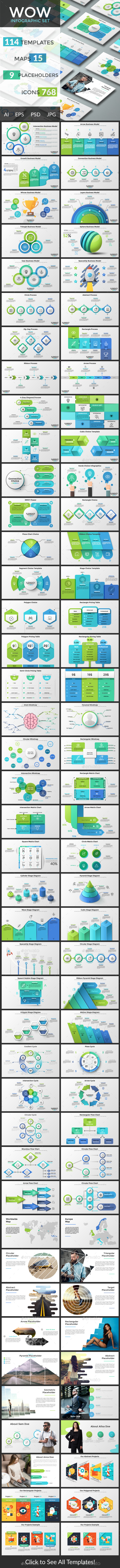 Wow Infographic Collection - Infographics