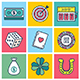 Luck Concept Illustration Icon Set - GraphicRiver Item for Sale