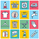 Cleaning Illustration Icon Set