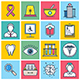 Medicine Concept Illustration Icon Set