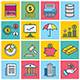 Finance Concept Illustration Icon Set