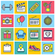 Events Concept Illustration Icon Set - GraphicRiver Item for Sale