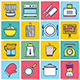 Cooking Concept Illustration Icon Set