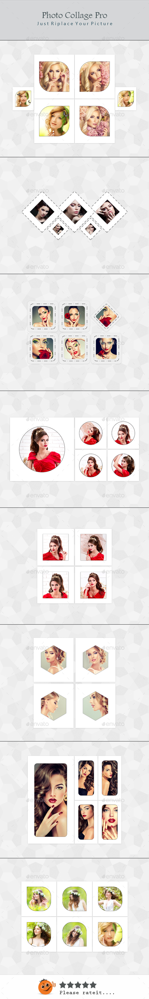 Photo Collage Pro - Photo Templates Graphics