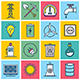 Energy Concept Illustration Icon Set - GraphicRiver Item for Sale