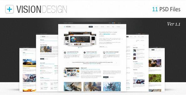 Free Download Vision Design Nulled Latest Version