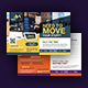Moving Services Postcard Design Templates