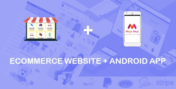 Ecommerce Website + Android App + Shopping Cart - CodeCanyon Item for Sale