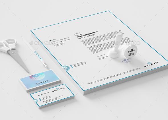 Sphero Professional Mockups - Print Product Mock-Ups