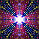 Glow Mandala Cross VJ Loop - VideoHive Item for Sale