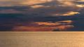 Dark clouds at sunset on the Tyrrhenian Sea - PhotoDune Item for Sale