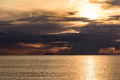 Dark clouds at sunset on the Tyrrhenian Sea - PhotoDune Item for Sale