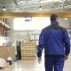 Follow Footage of Factory Worker That Is Walking Through Industrial Facilities - VideoHive Item for Sale