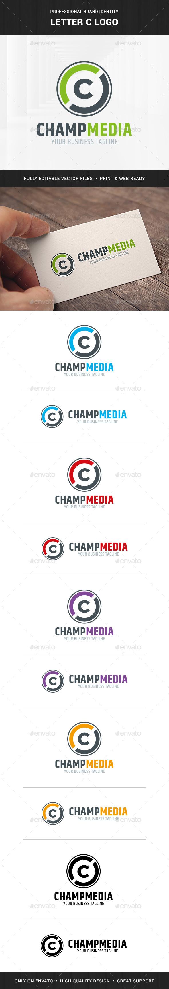 Letter C Logo Template - Letters Logo Templates