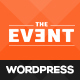 TheEvent – Event Management and Conference WordPress Theme - ThemeForest Item for Sale