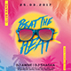 Beat The Heat Party Flyer - GraphicRiver Item for Sale