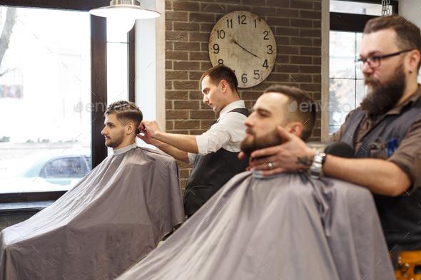 Getting A Haircut 41