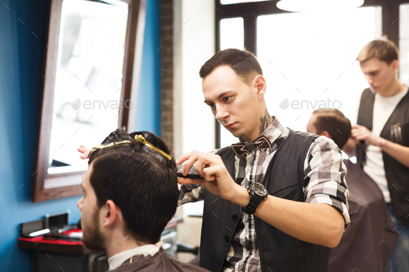 Getting A Haircut 55
