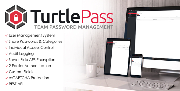 TurtlePass - Team Password Manager - CodeCanyon Item for Sale