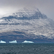Peak Looming out of the fog in Greenland - PhotoDune Item for Sale