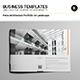 Petra Architecture Portfolio A4 Landscape - GraphicRiver Item for Sale