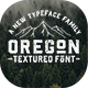 Oregon - Vintage Font - GraphicRiver Item for Sale