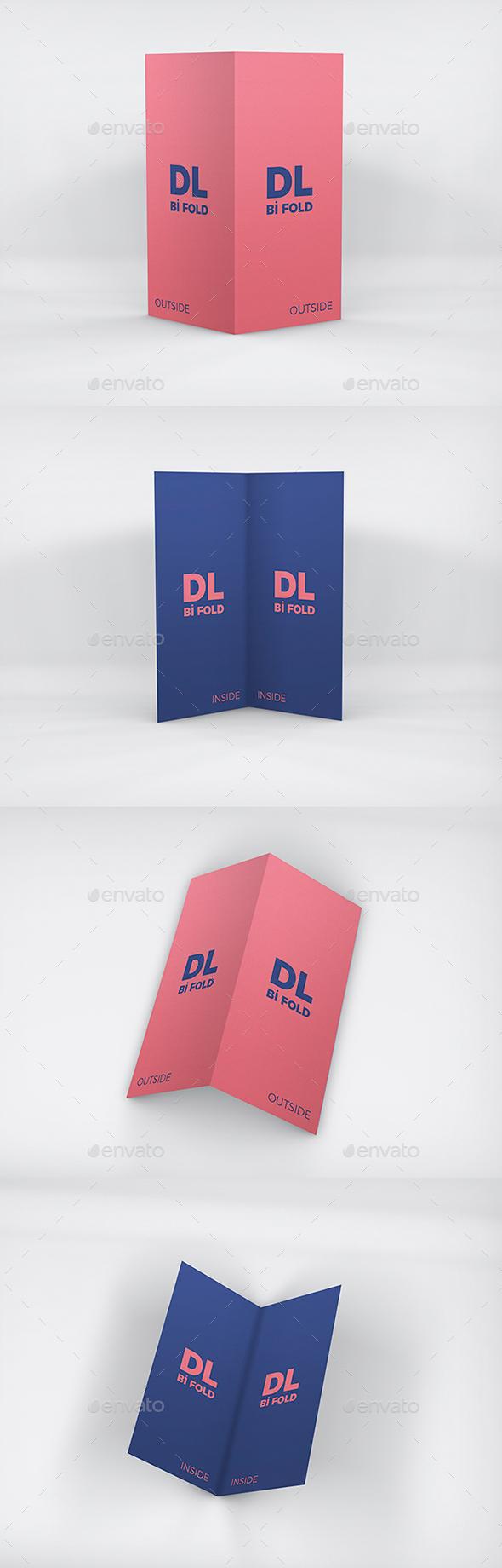 DL Bi-Fold Mockup