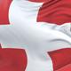 Switzerland Flag Waving