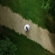 Aerial Shot of Newlyweds Dancing - VideoHive Item for Sale