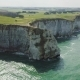 Amazing Drone Footage Cliffs Falaises d'Etretat Etretat By Drone - VideoHive Item for Sale