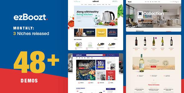 Image of ezBoozt – All-in-one WooCommerce WordPress Theme