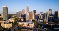 Aerial View of the Downtown City Skyline of Charlotte North Carolina - PhotoDune Item for Sale