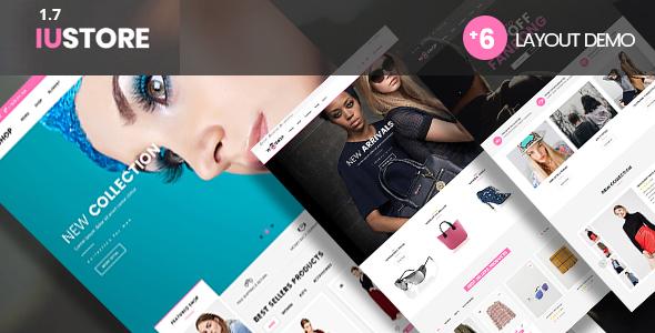 iuStore - Fashion Beauty  Shop  WooCommerce WordPress Theme - WooCommerce eCommerce