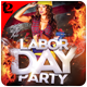 Labor Day Party Flyer Template - GraphicRiver Item for Sale