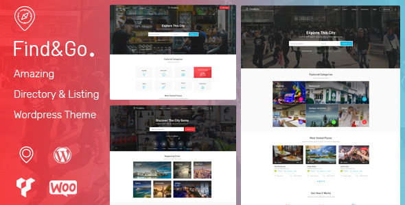 Findgo - Directory & Listing WordPress Theme - Directory & Listings Corporate