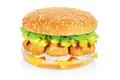Hamburger with pineapple - PhotoDune Item for Sale