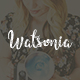 Watsonia - WordPress Blog Theme - ThemeForest Item for Sale