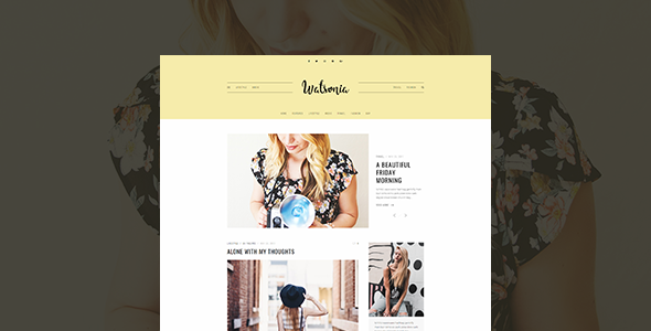 Watsonia - WordPress Blog Theme - Personal Blog / Magazine