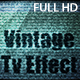 Vintage TV Effect - VideoHive Item for Sale