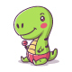 Baby T-Rex - GraphicRiver Item for Sale