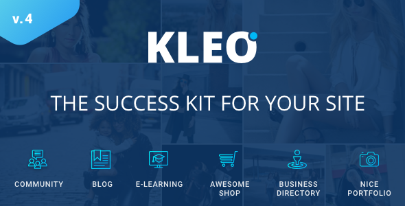 Image of KLEO - Pro Community Focused, Multi-Purpose BuddyPress Theme