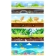 Game Background Vector Cartoon Landscape Interface - GraphicRiver Item for Sale