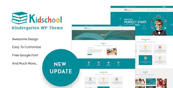 Image of Kidschool - kids & Kindergarten school WordPress Theme
