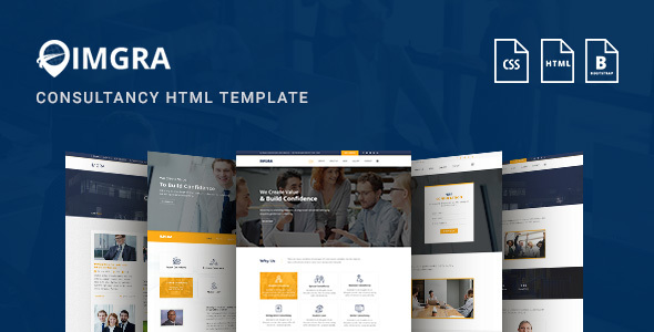 IMGRA - Immigration Business Consultancy Services Agency Template