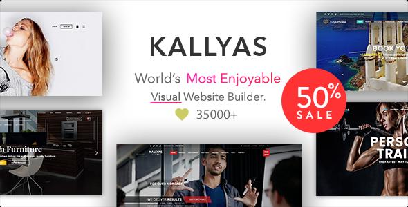 KALLYAS - Creative eCommerce Multi-Purpose WordPress Theme