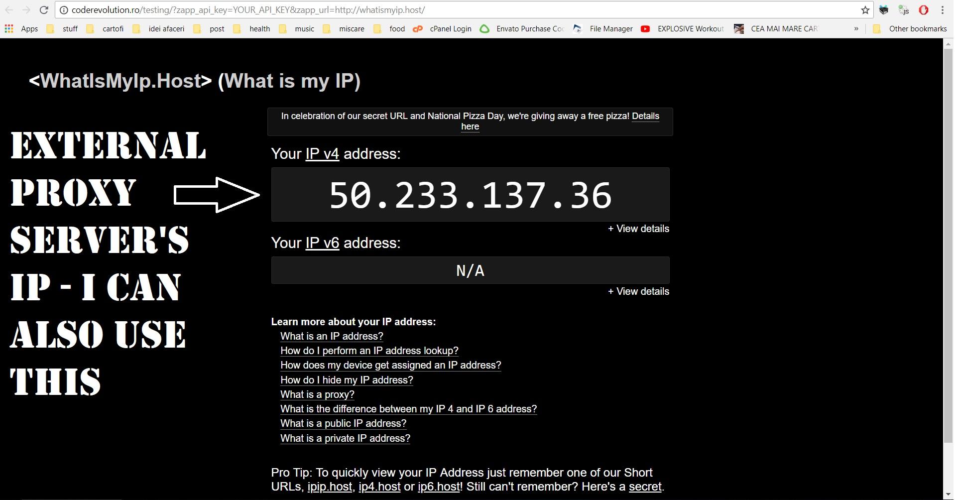 Zapp Proxy Server Plugin for WordPress