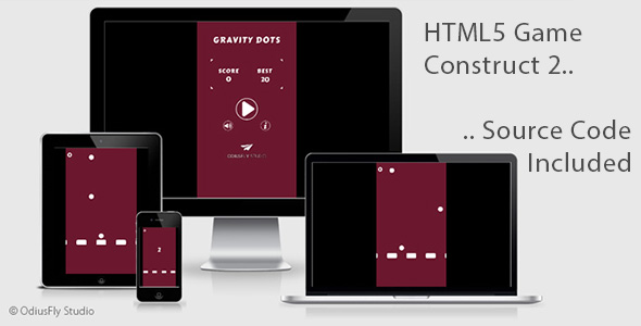 Gravity Dots - HTML5 Game (Construct 2)            Nulled